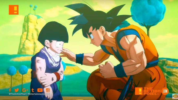 project z, dragon ball z, dragon ball, goku, gohan, dragon balls, bandai namco, bandai namco entertainment, the action pixel, entertainment on tap,