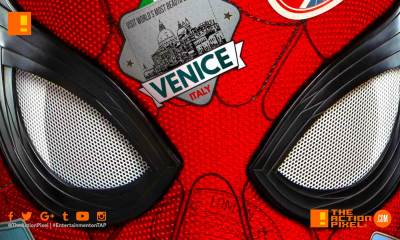 spider-man, spider-man: far from home poster, spiderman far from home, spiderman, far from home,spiderman 2 poster,peter parker, marvel, marvel studios, marvel entertainment ,sony, sony pictures, the action pixel , entertainment on tap