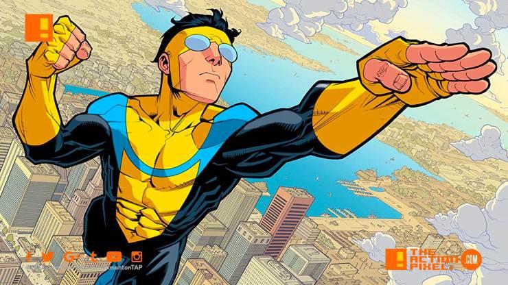 robert kirkman, invincible, amazon, amazon video, animated series, comics, comic book, steven yeun, j.k. simmons, j k simmons, the action pixel, entertainment on tap