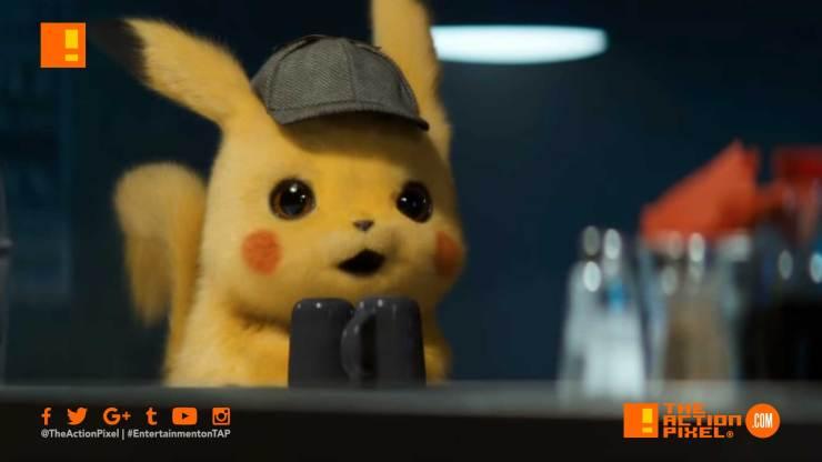 pokemon detective pikachu, pokémon,pokemon, pokémon detective pikachu, the action pixel, justice smith, entertainment on tap, warner bros. pictures, ryan reynolds,mewto, trailer #2 , pokemon detective pikachu trailer 2
