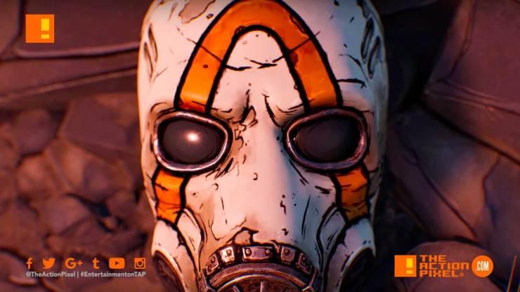 borderlands 3, gearbox software, reveal trailer, the action pixel, entertainment on tap, handsome jack, the action pixel