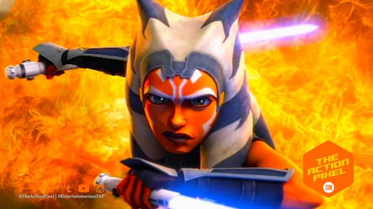 ahsoka, star wars, star wars: the clone wars, the clone wars, the clone wars season 7 , entertainment on tap, maul, darth maul, lightsaber, the action pixel, featured, entertainment on tap,