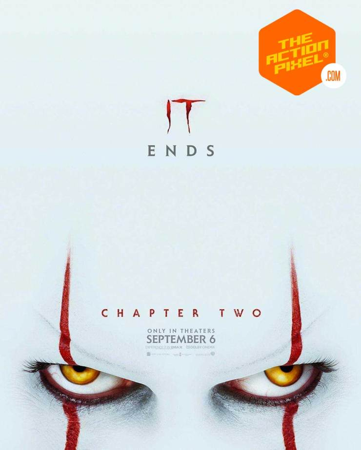 derry, it chapter two official teaser trailer, it chapter two, it chapter 2, you'll float two, the action pixel , entertainment on tap, pennywise, featured, warner bros. pictures,it chapter 2 poster,