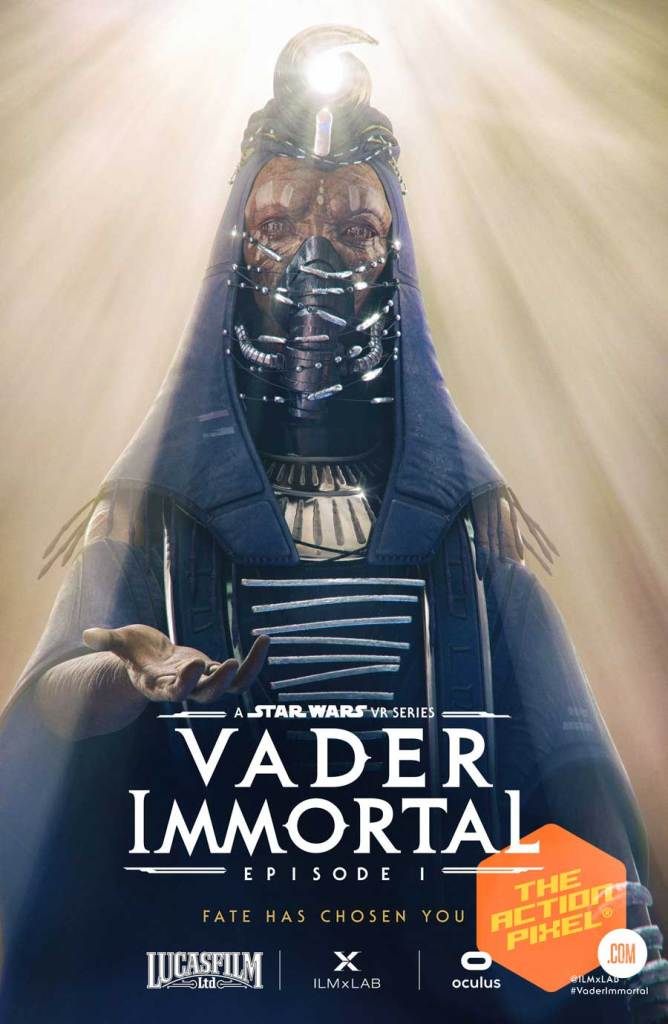Admiral Karius, vader immortal, mustafarian priestess, zo-e3, the black bishop, vylip, darth vader, vr, oculus, ilmxLAB, vader immortal, vader immortal episode 1,sdcc 2019, sdcc , comic con 2019, star wars, star wars game, star wars vr game,featured, the action pixel, style on tap,