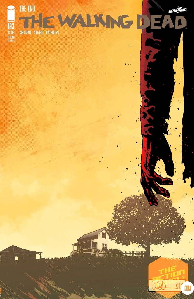 the walking dead #193, walking dead, the walking dead, twd, robert kirkman, skybound, featured, the walking dead,the action pixel, entertainment on tap