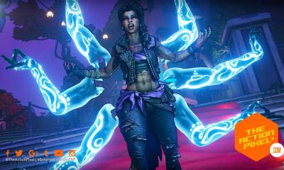 amara, borderlands 3, borderlands, character trailer, amara character trailer, borderlands 3 amara, looking for a fight, borderlands, featured, the action pixel, entertainment on tap