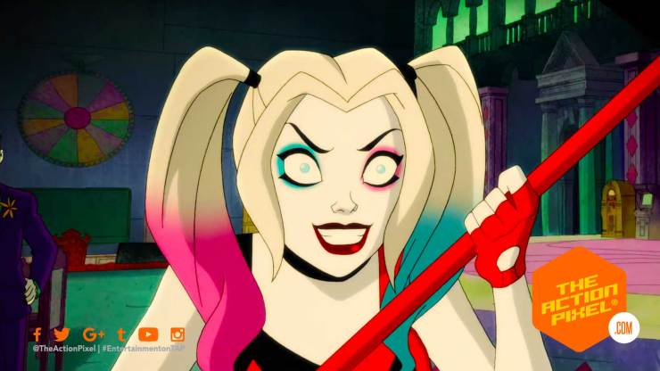 harley quinn, the action pixel, dc universe, dc comics ,dc entertainment, the action pixel, entertainment on tap, featured,