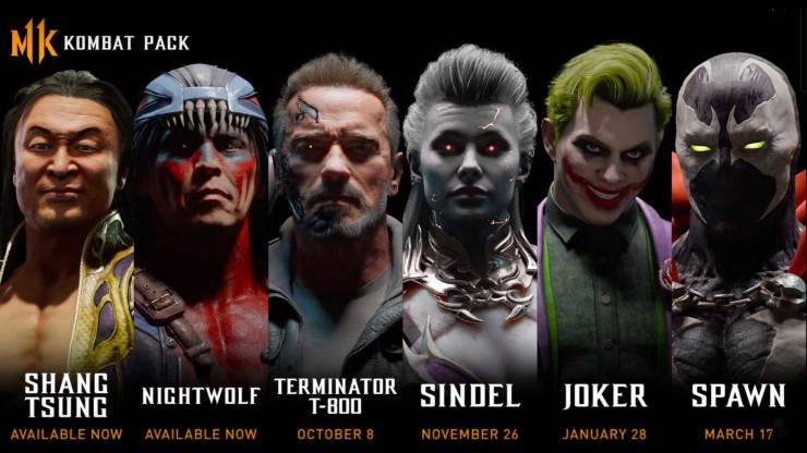 terminator , the terminator, joker, the joker , dc comics, mortal kombat, mortal kombat 11, mk, trailer, mortal kombat 11 kombat pack characters,entertainment on tap, featured