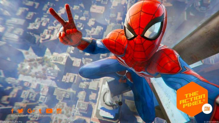 spider-man ps4, spiderman, spider man ps4, insomniac game, playstation, the action pixel, spiderman, sony , sony playstation, the action pixel, entertainment on tap