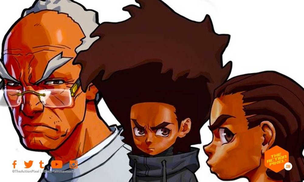 boondocks,hbo, riley, huey, granddad,, the action pixel, hbo max, entertainment on tap, featured