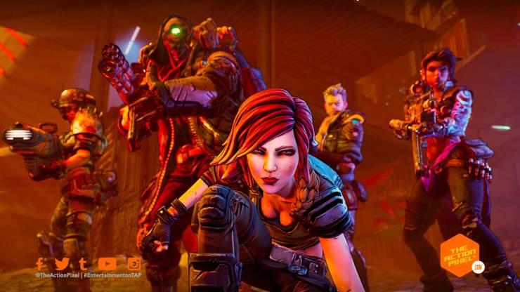 borderlands 3, launch trailer, the action pixel, entertainment on tap, borderlands 3, launch trailer, featured, vault hunters,