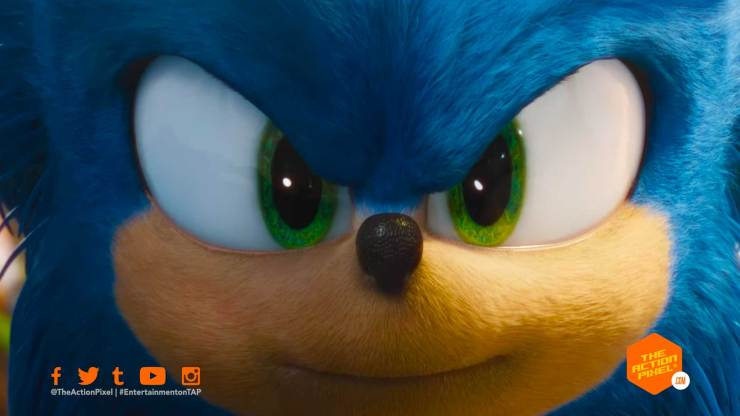 sonic the hedgehog, sonic, paramount pictures, the action pixel, entertainment on tap, poster, featured, paramount pictures, sonic movie, sonic movie trailer, sonic the hedgehog movie trailer, delays, sonic movie delayed, delay, sonic the hedgehog movie trailer