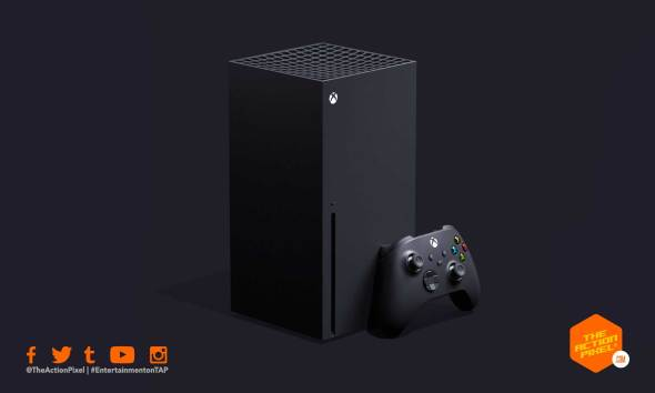 xseries, x series, xbox x series, console, microsoft, phil spencer, the action pixel, entertainment on tap