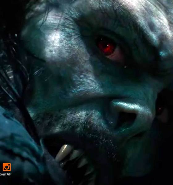matt smith, morbius the living vampire, jared leto, sony, sony pictures, spider-man, marvel comics, doctor who, matt smith , the action pixel, entertainment on tap, featured, leaked image, featured, trailer, morbius teaser trailer, morbius trailer, vulture, michael keaton,