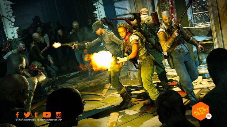 zombie army 4: dead war, dead war, rebellion, sniper elite, zombie army, the action pixel, reveal trailer, entertainment on tap, trailer,101 trailer, featured