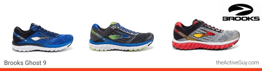 Brooks Ghost 9 Men's Colors
