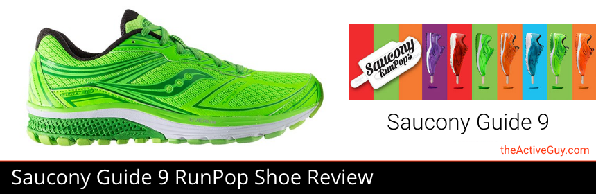 Saucony Guide 9 RunPops Shoe Review