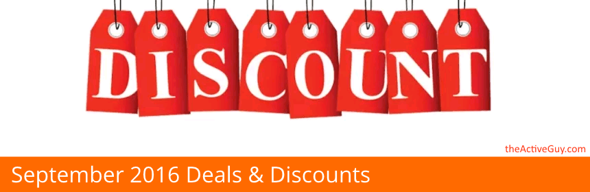 b5e8b79c5a The best Running, Cycling, and Fitness Deals/Discounts for September 2016  Below is a list of discounts, deals, promo, and coupon codes to help save  you ...