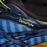 Asics DynaFlyte logo close