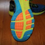 Asics DynaFlyte sole front