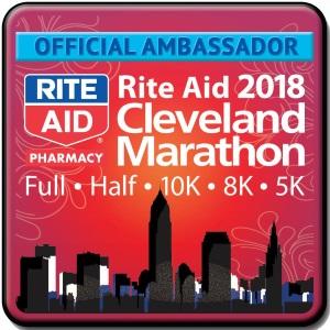 2018 Cleveland Marathon Ambassador Badge