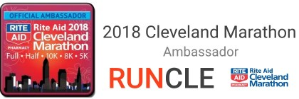 2018 Cleveland Marathon Ambassador