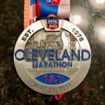 2019 Cleveland Marathon Medal