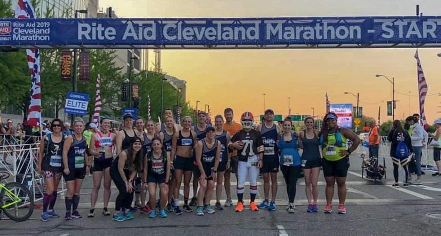 2019 Cleveland Marathon Ambassadors Race Day