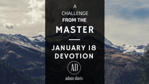 January 18 Devotion-The Awakening Project
