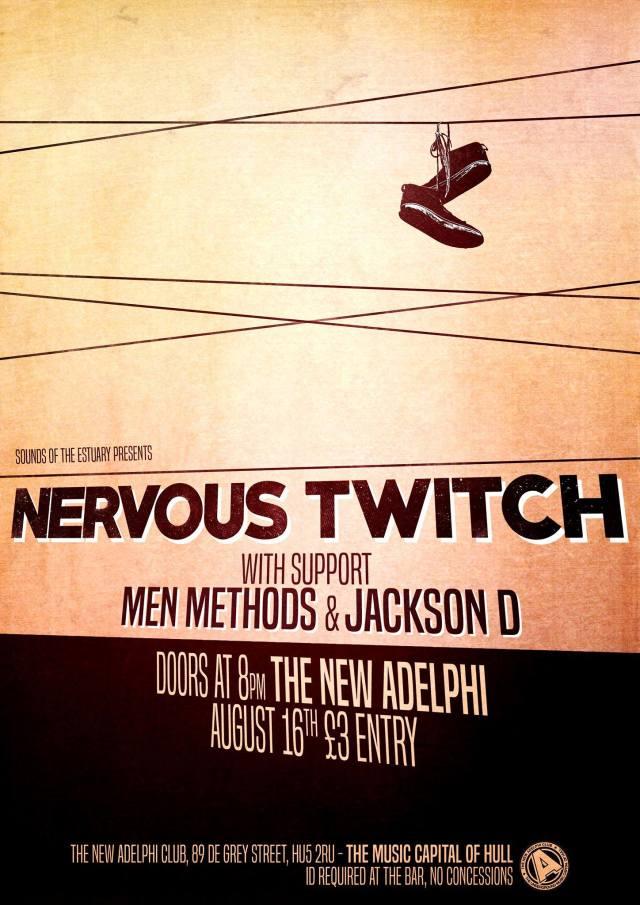 NERVOUS TWITCH