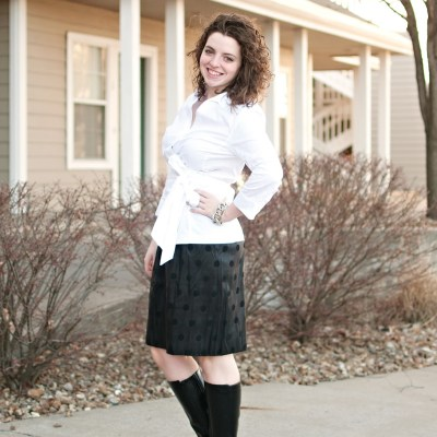What I Wore: Just call me bossypants