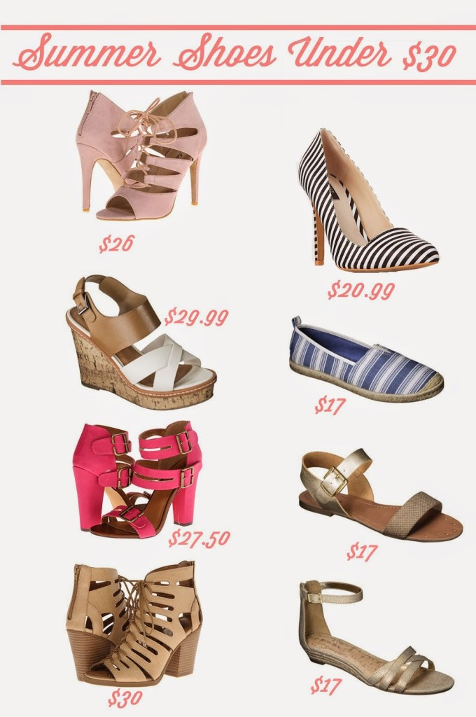 Summer Shoes Under $30