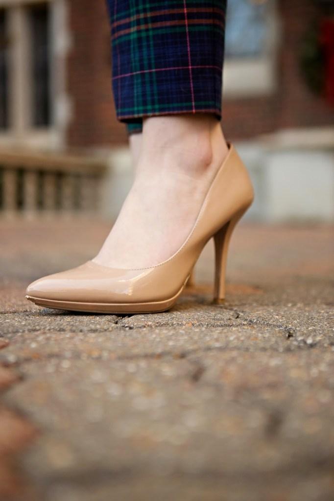 Nude BCBG Heels // theadoredlife.com