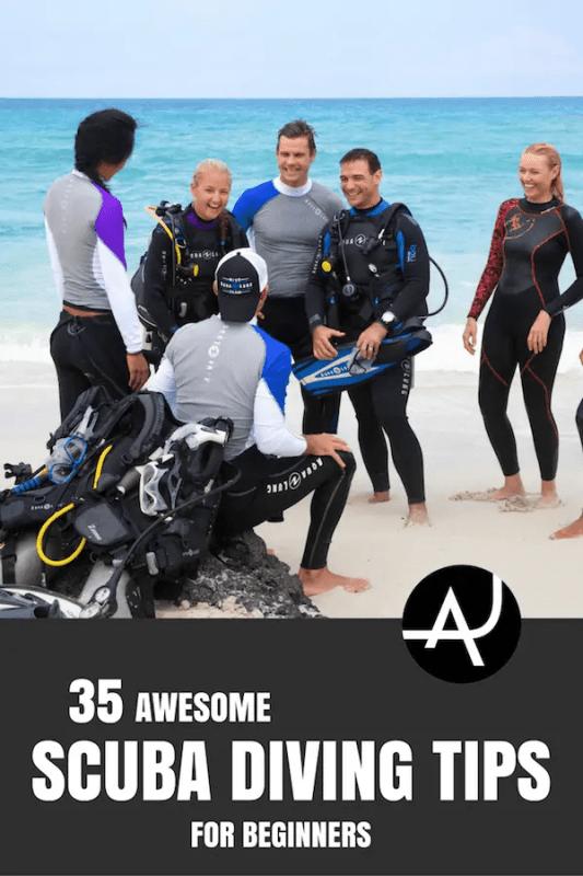 scuba tips for beginner divers