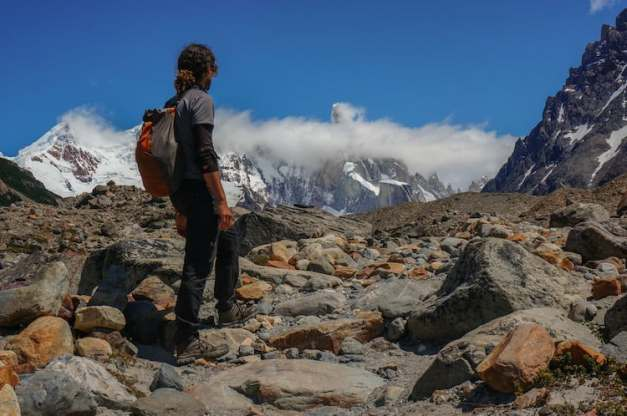 Hiking Fitz Roy Argentina