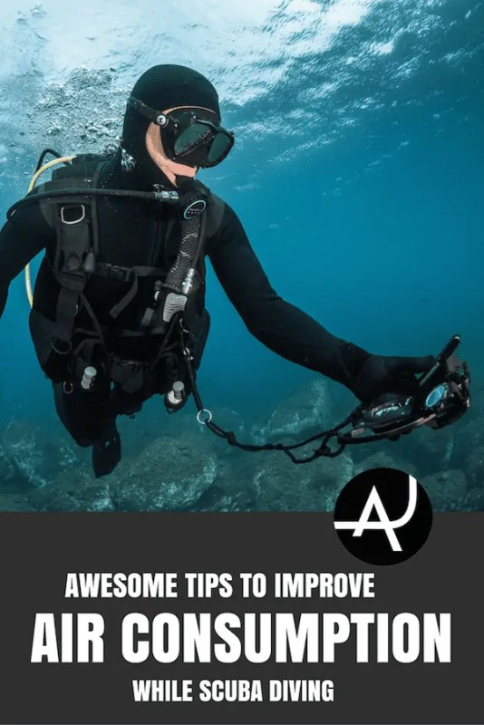 how to improve air consumption while scuba diving
