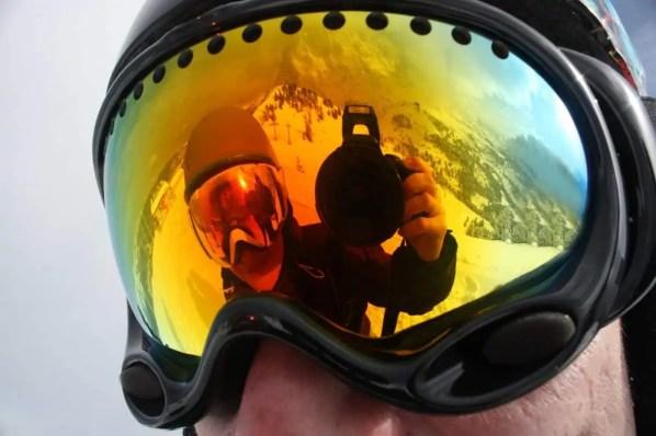 best skiing camera