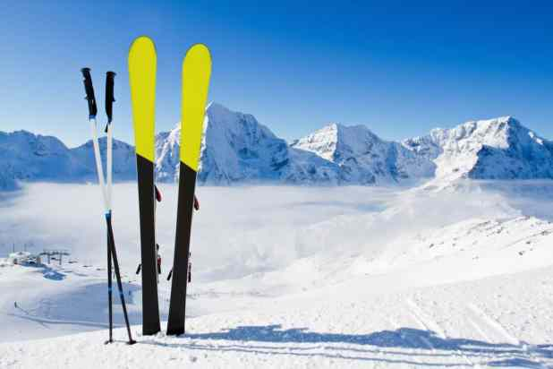 ideal ski poles