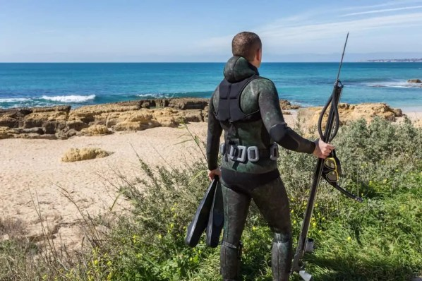 what wetsuit to wear for spearfishing