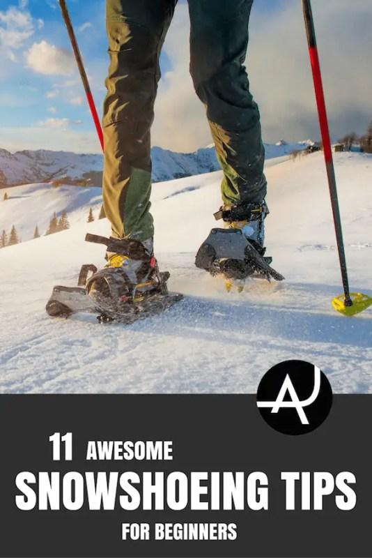 tips for beginner snow shoer