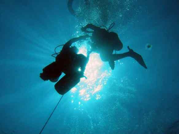 rate for scuba diving ascent