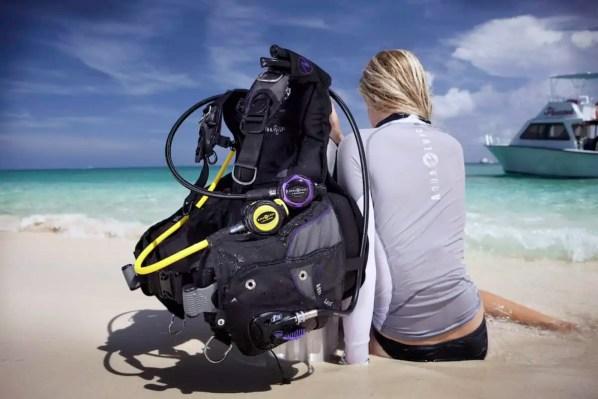 scuba diving gear choices