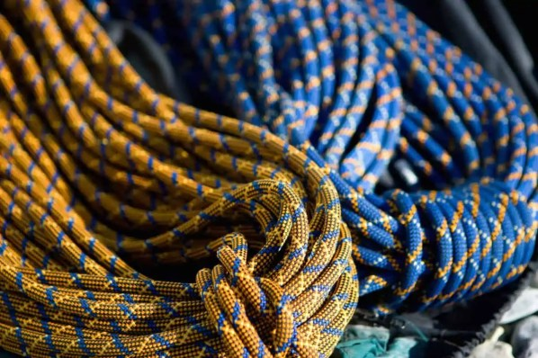 the ideal time to replace your climbing rope