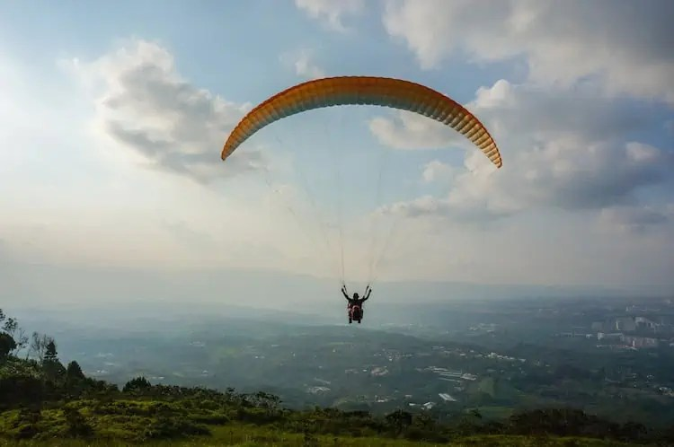 Taking Flight: Paragliding in Santander, Colombia