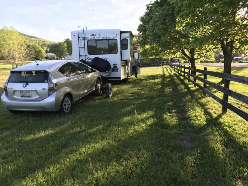 The Adventure Travelers RV in Catskills