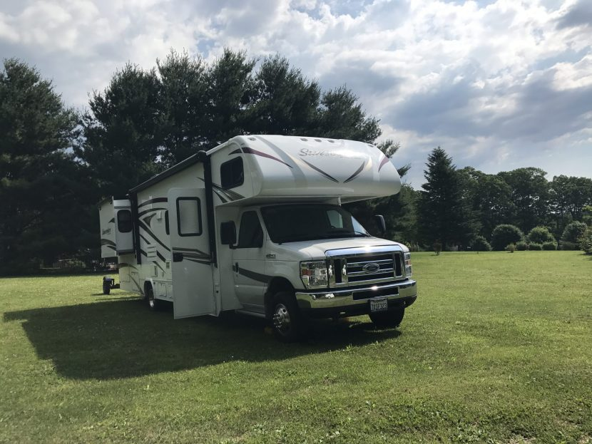 The Adventure Travelers RV in Field