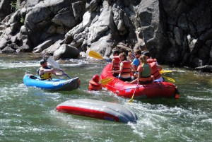 Rafting Rescue The Adventure Travelers
