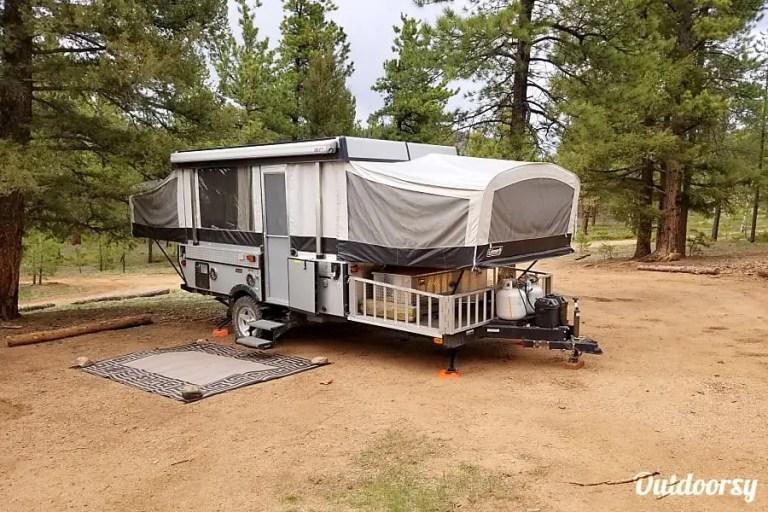 2010 Colman Pop Up Trailer RV Rental Denver