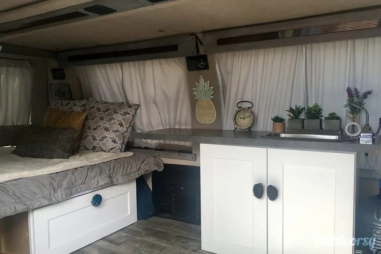 Oahu Conversion Van Interior