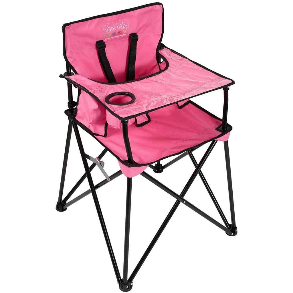 Foldable High Chair The Adventure Travelers